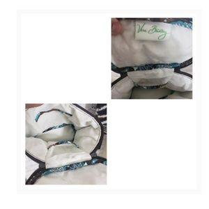 Vera Bradley Bags - Set of 4 Vera Bradley Bags/Wallet Java Blue Print